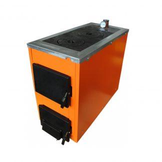 Котел на твердом топливе с плитой Термобар АКТВ 16-20 кВт